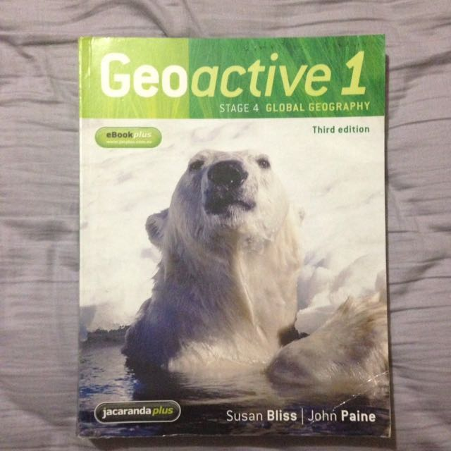 Geoactive 1 - third edition
