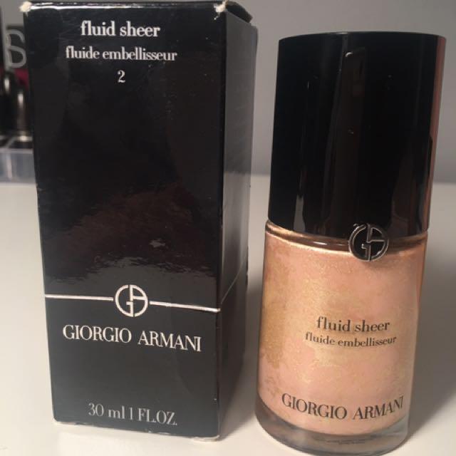 Giorgio Armani Fluid Sheer #2