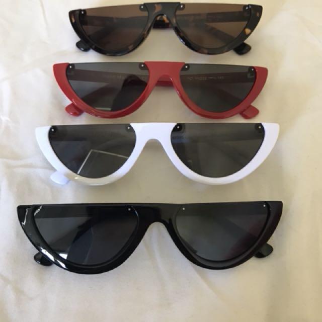 Half Frame Cat Eye Sunglasses *BRAND NEW*