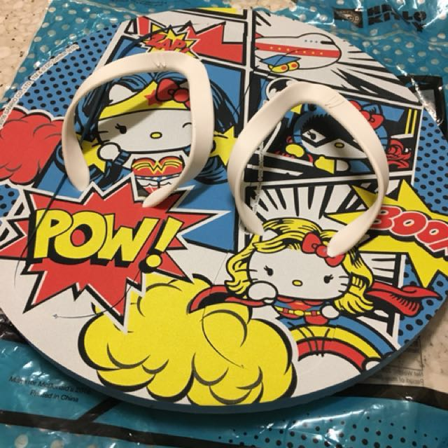 Hello kitty X DC comics 人字拖