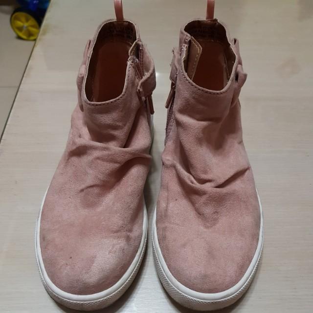 H&M童鞋 18.5粉色