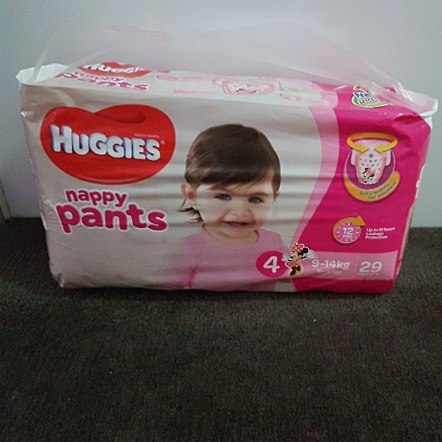 Huggies nappy pants toddler girl