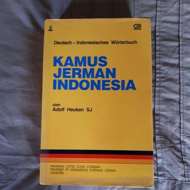 Kamus Jerman - Indonesia