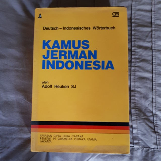 Kamus jerman - indonesia