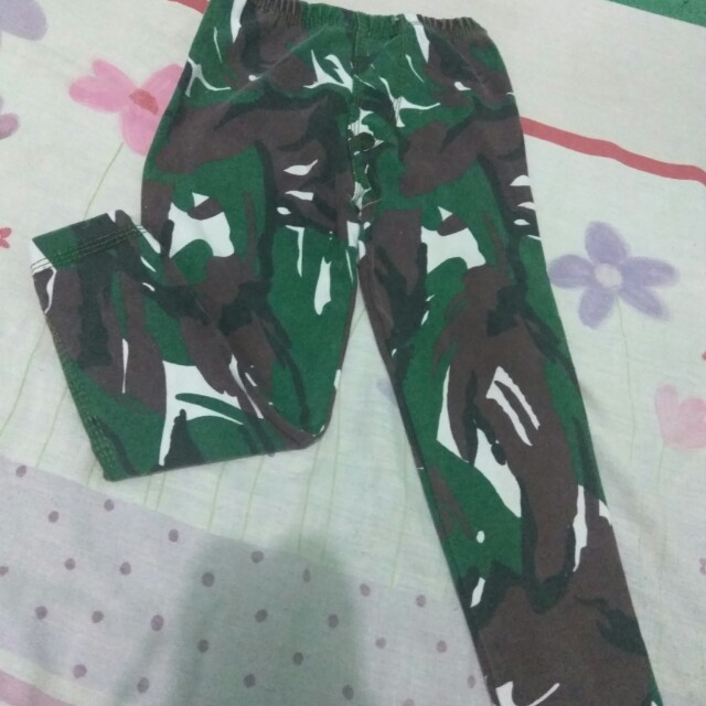 Legging Anak Unisex Army