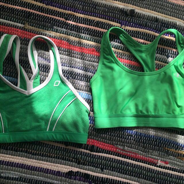 Lorna Jane and champion sports bra