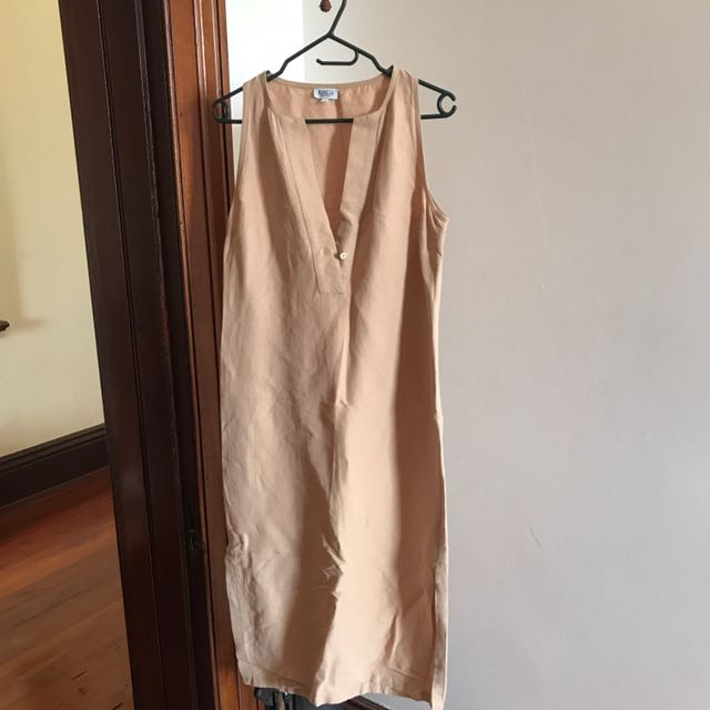 Marcella Italian linen summer dress