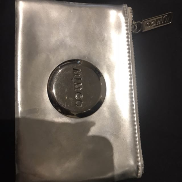 Mimco silver pouch