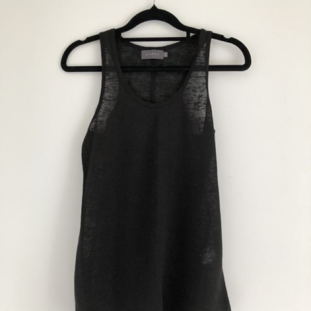 Mirrou Sleeveless Top