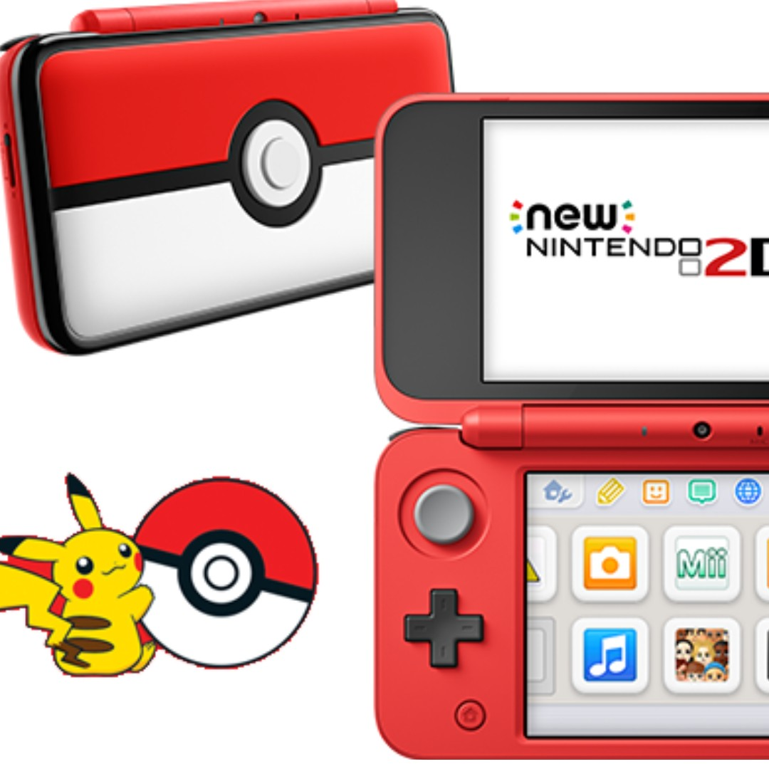 modded new 2ds xl nintendo pokeball edition video. Black Bedroom Furniture Sets. Home Design Ideas