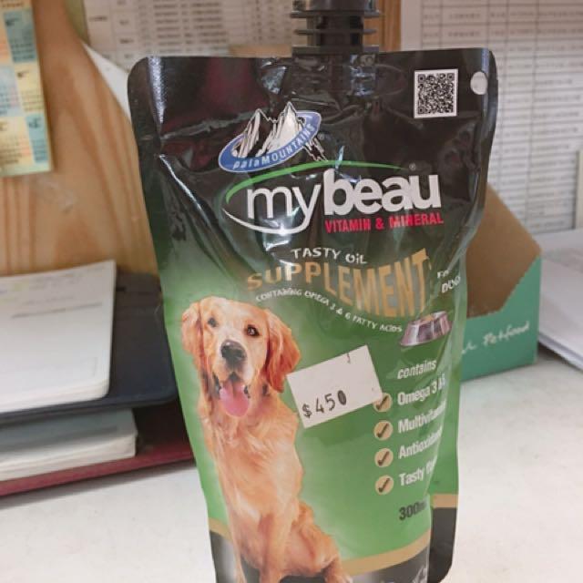 mybeau好樣 紐西蘭進口營養品‧犬用液態營養補充劑300ml
