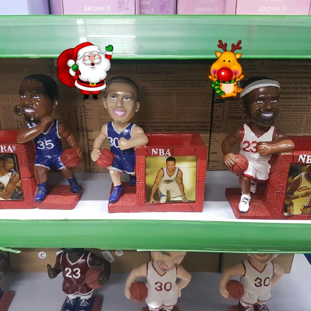 NBA Sculpture with holder