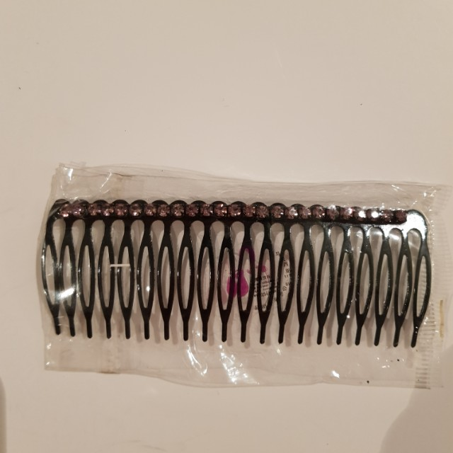 Never used French comb hair accessory with mini diamante
