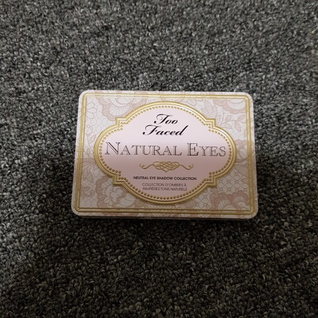 NEVER USED Too Faced Natural Eyes Palette