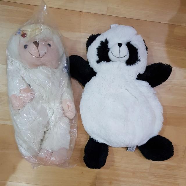 New Pillow Pet Bags  - panda