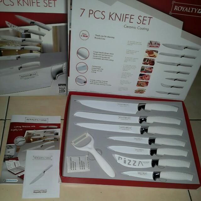 New pisau set merk royalty line