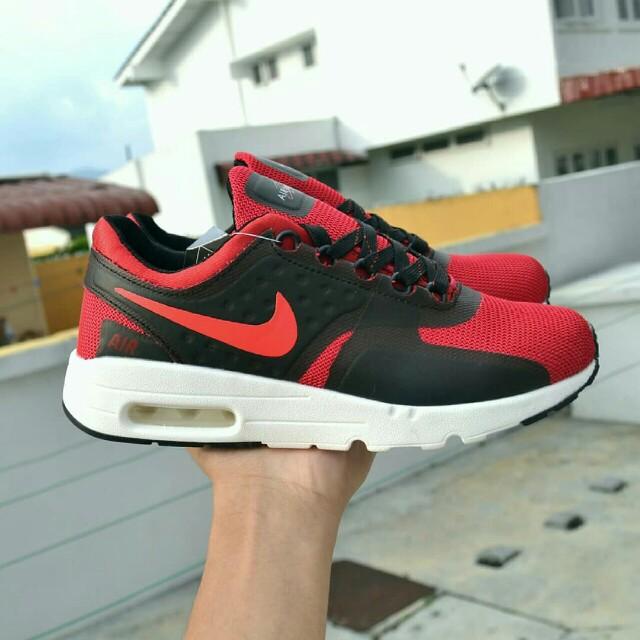 size 40 8876c 67c41 Nike Air Max Zero Red Black, U