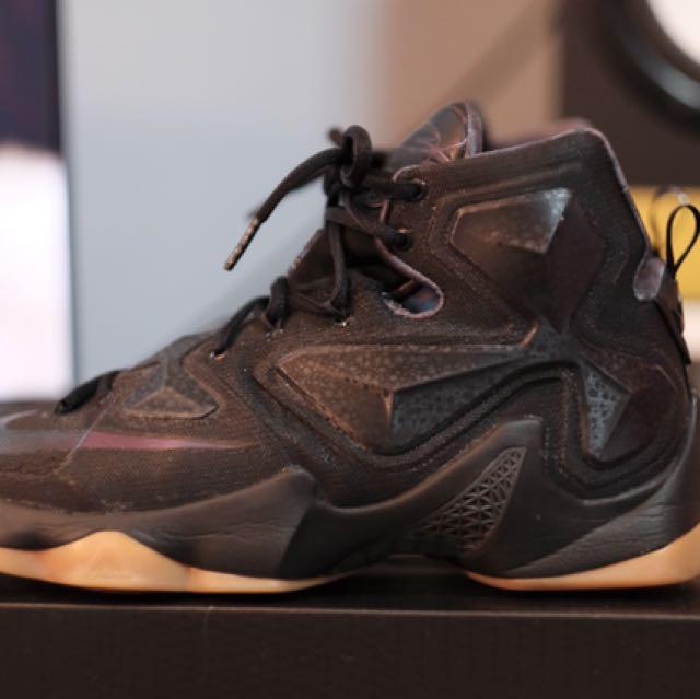 "999ee75973e0f Nike LeBron 13 ""Black Lion"" US9"