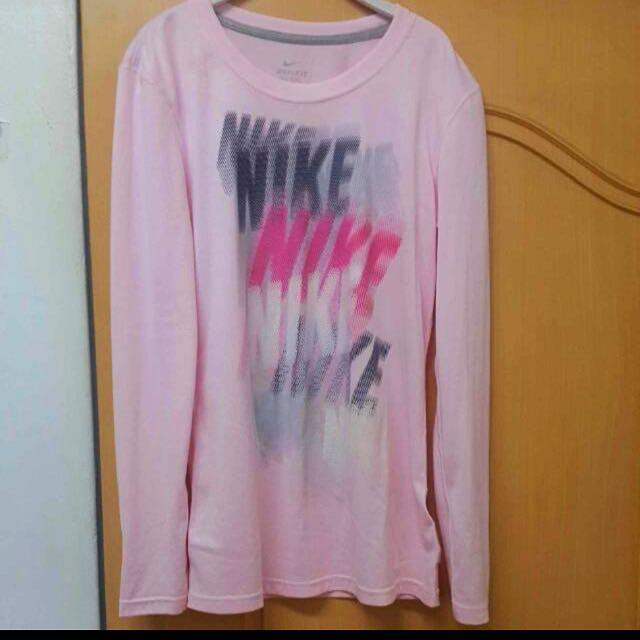 Nike長袖排汗上衣尺寸L號#舊愛換新歡