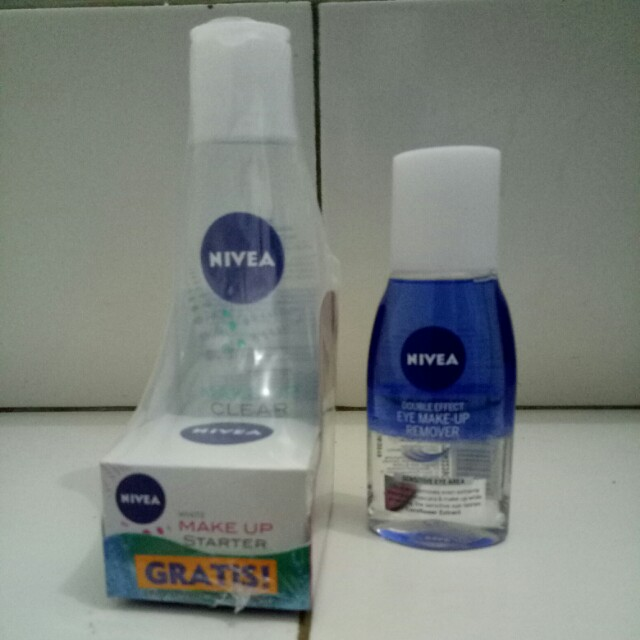 Nivea Micellar Water + Eye Make Up Remover