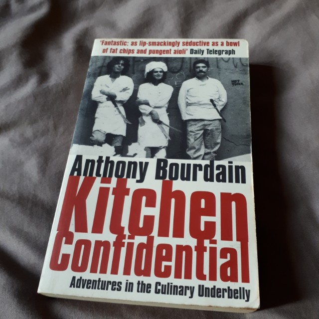 Novel Anthony Bourdain Kitchen Confidential