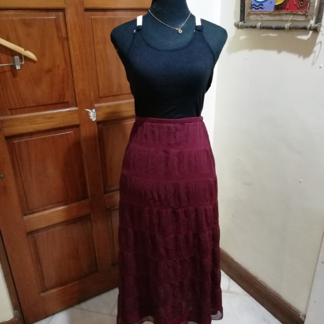 OOTD Set Top & Skirt