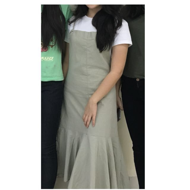 Pale Green Overall