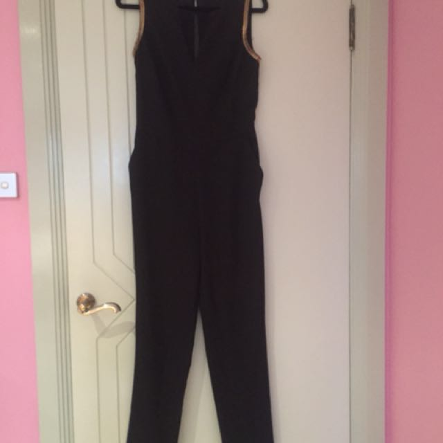 Portmans- black jumpsuit