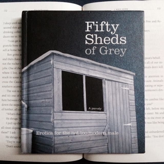 Pre💙 Book: Fifty Sheds of Grey on Carousell