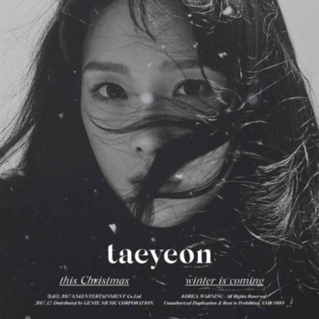 [PREORDER] Taeyeon This Christmas - Winter is Coming
