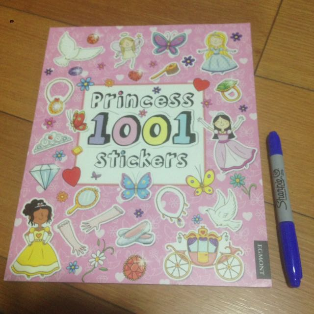 Princess 1001 Stickers Activity Book