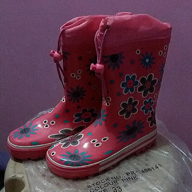 Rainy Boots (Size 33)