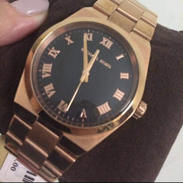 ⚠️Repriced‼️Authentic Michael Kors Rose Gold Men's Watch