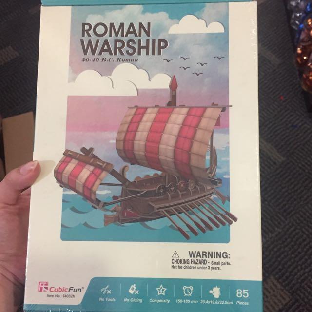 Roman Warship 3D Puzzle