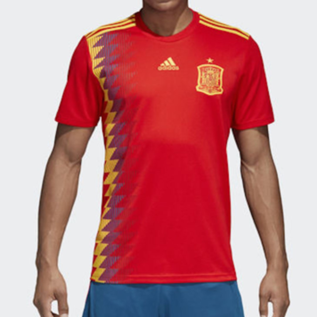2ade9d365b1 SALE] Spain World Cup Jersey 2018, Sports, Sports Apparel on Carousell