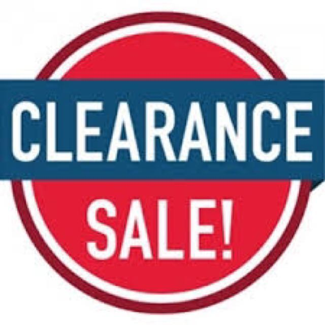Skincare and Makeup clearance sale
