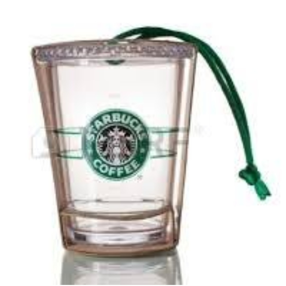 🆕Starbucks® 🎄 2009 Holiday Cold Cup Ornament