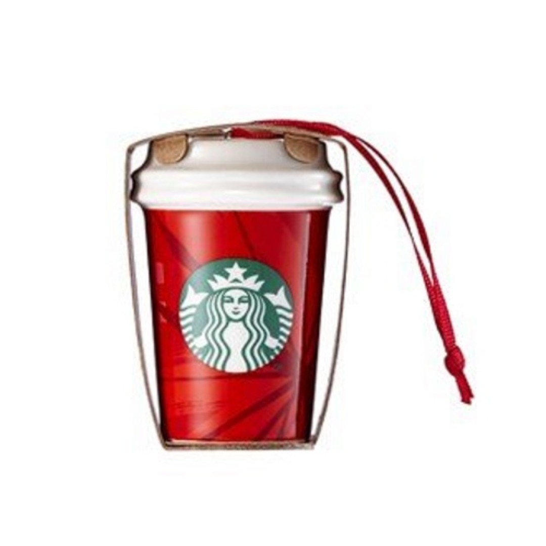 🆕Starbucks® 🎄 2014 Red Cup Ornament