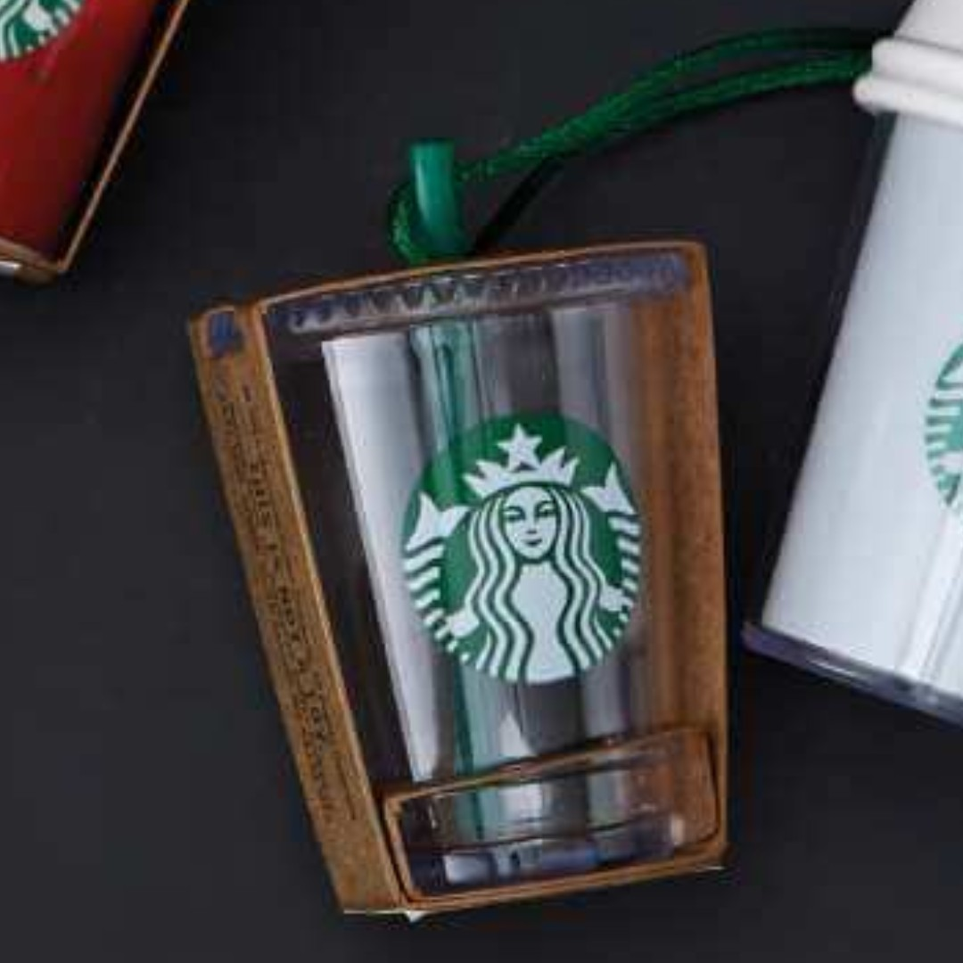 🆕Starbucks® 🎄 2015 Holiday Cold Cup Ornament