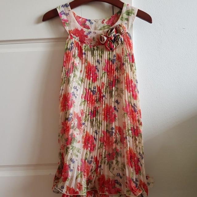 Sugar reef floral swing dress