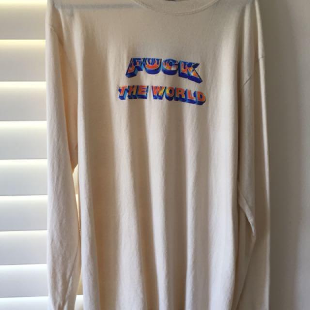 Supreme Fuck The World Shirt