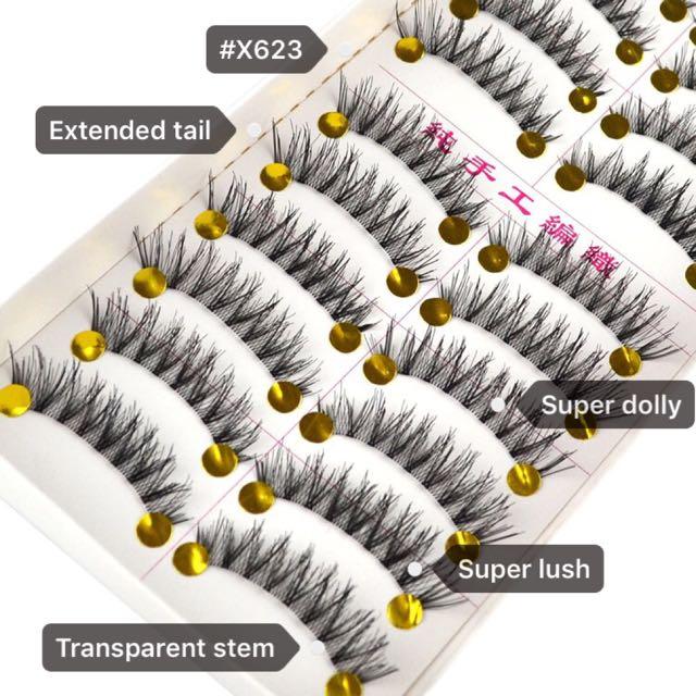c61ccc78fdd Taiwan Handmade False/Fake Eyelashes (#X623 TS), Health & Beauty ...