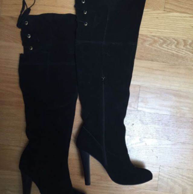 The Bay knee high boots