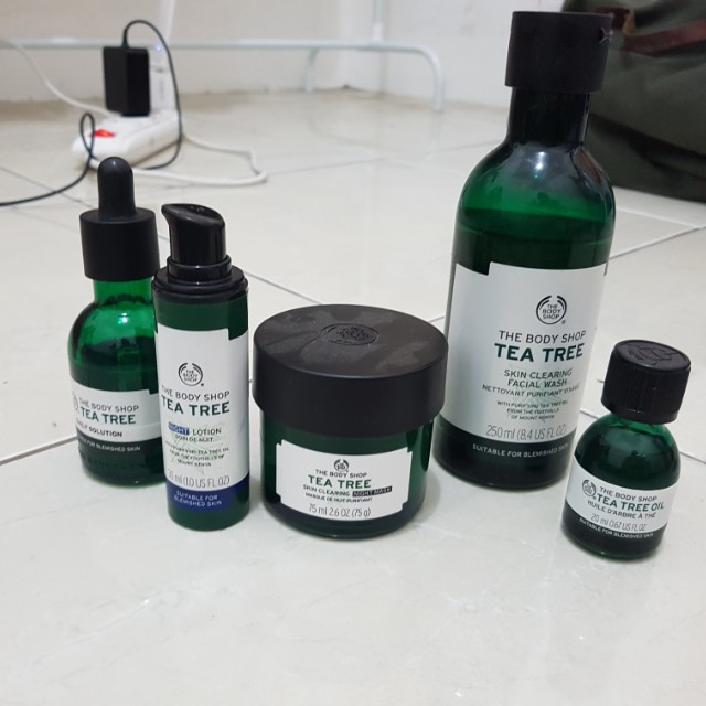 THE BODY SHOP TEA TREE PACKAGE