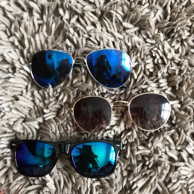 Three pairs of sunnies