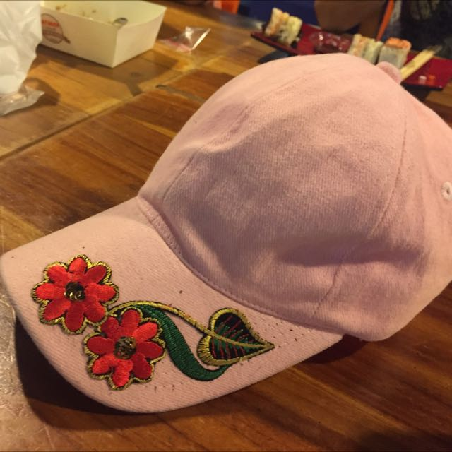 Topi Patch Bunga