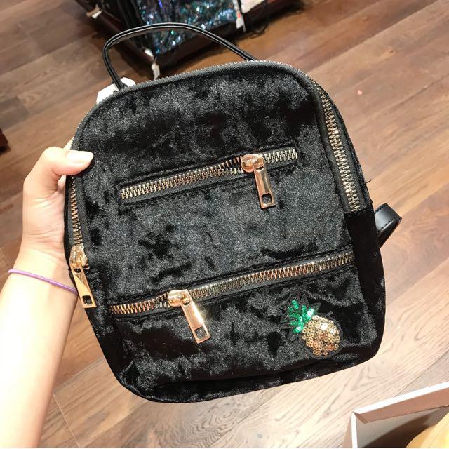 Typo pineapple backpack
