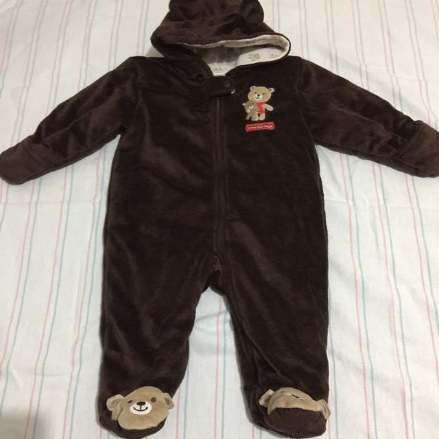 Unisex baby bear outfit