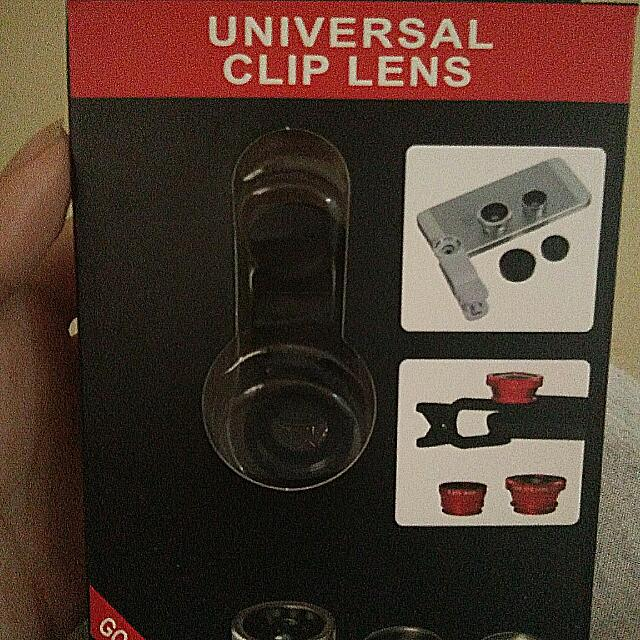 Universal Clip Lens For Phone Cam