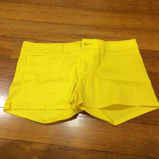 US Brand Dickies Yellow Shorts